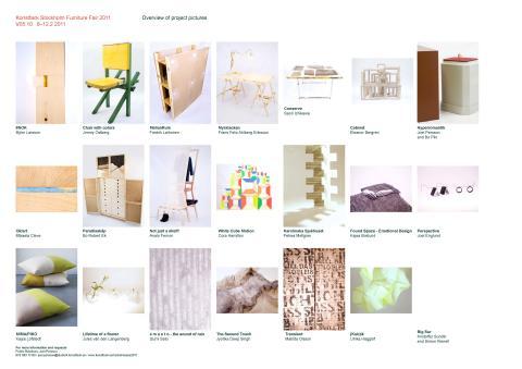 Konstfack på Stockholm Furniture Fair