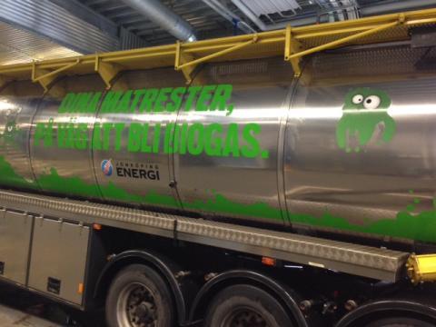 Biogasen är ett viktigt bidrag för att nå klimatmålen