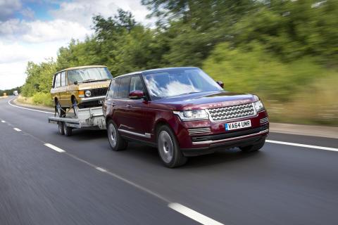 """Land Rover """"GENOMSKINLIGA SLÄP"""""""