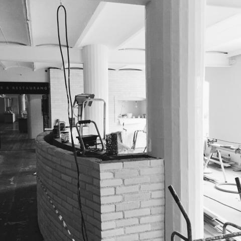 Dreem arkitekter arbetar med nyöppning för Restaurang Waterfront