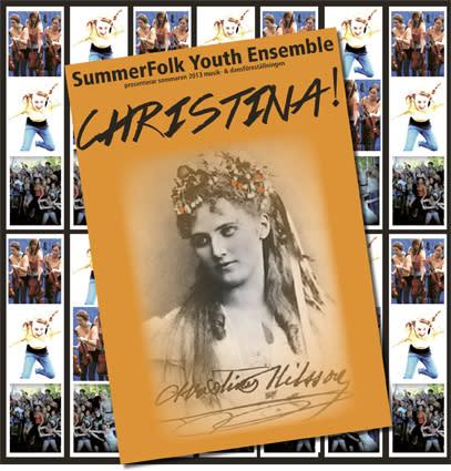 Föreställningen CHRISTINA! ger 20 ungdomar sommarjobb