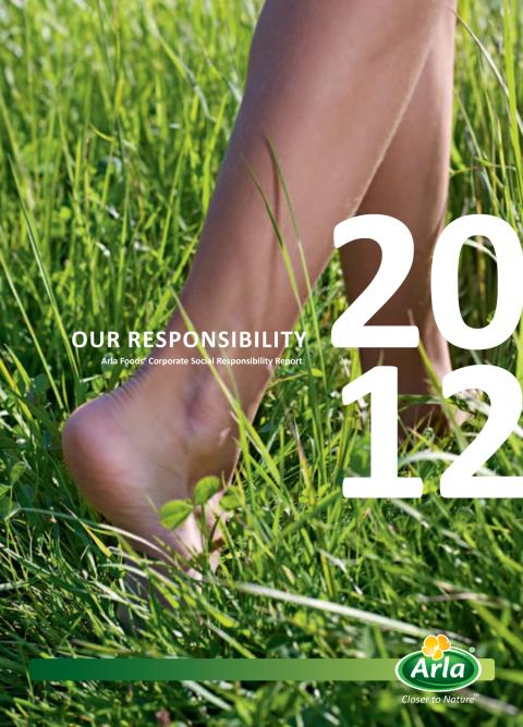 Arla Foods CSR report 2012