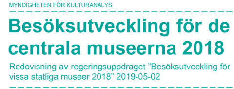 Ny rapport: Fler museibesök efter fri entré-reformen