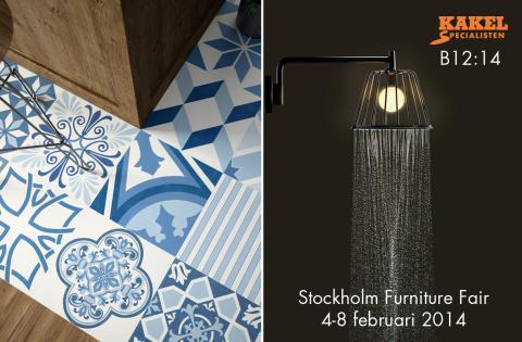 kakel + mönster på Stockholm Furniture Fair