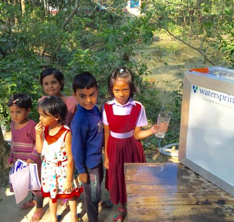 Safe and clean drinking water in Bangladesh!