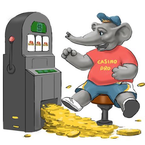 Casinopro Maskot - Elefanten Kalle