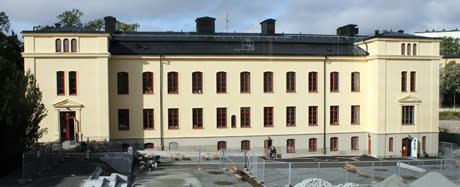 Kristinebergskolan invigd