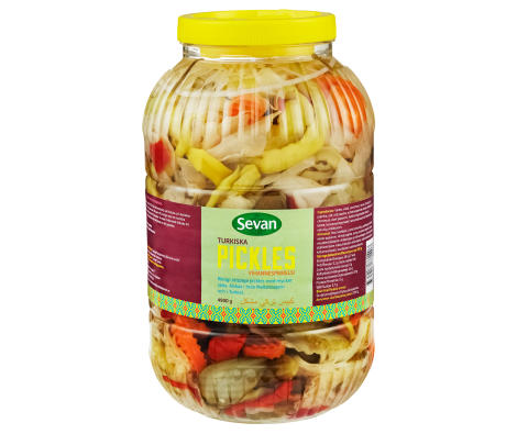 Turkiska Pickles 4,9kg