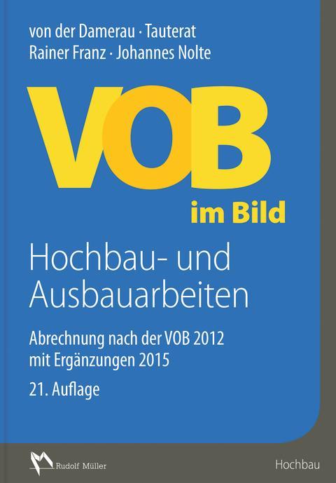 VOB im Bild – Hochbau- und Ausbauarbeiten  (2D tif)