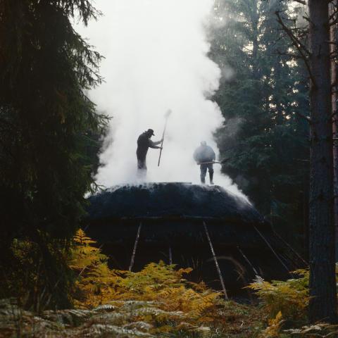 Ett skogens väsen vid Uttersberg
