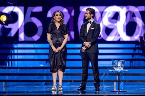 Susanna Andrén och Prins Carl Philip