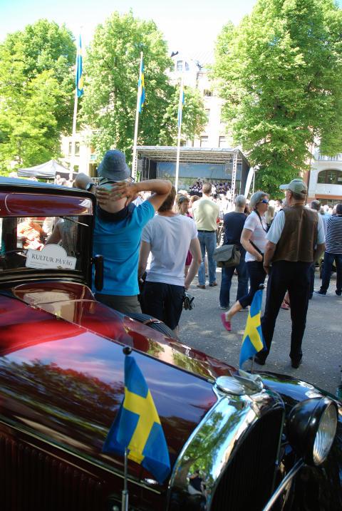Årets Kultur på väg arrangerades av Norrköpings Veteranbilklubb