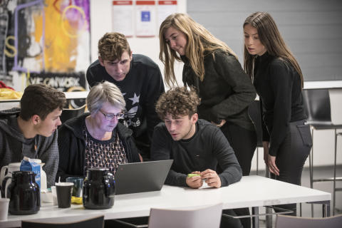Innovation og samarbejde på tværs af erhvervsuddannelser