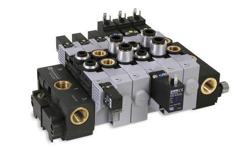 Pneumatisk ventilpaket sparar plats och kostnader – PVL-B2 från Parker