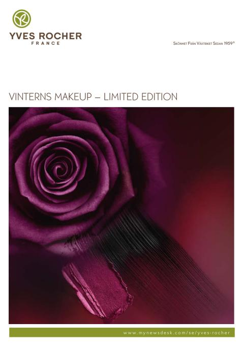 Pressinformation om Yves Rochers Vinter Makeup – Limited Edition 2015