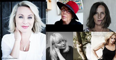Louise Hoffsten, Katerina Janouch och Yvonne Hirdman m.fl. klara till Kristianstad Bokfestival 2015