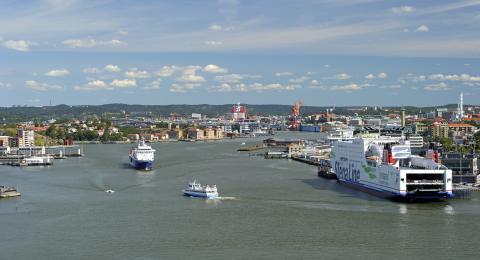 Ny inriktning på avtal mellan Göteborgs Hamn AB och Stena Line