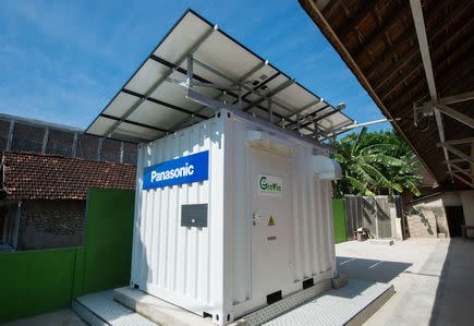 Panasonic Eclipse Live by Solar Power 2016 - Power Supply Container (External)