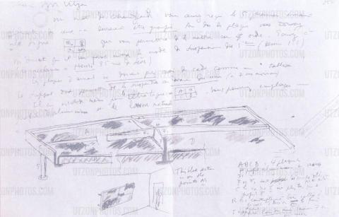 Le Corbusier's sketch