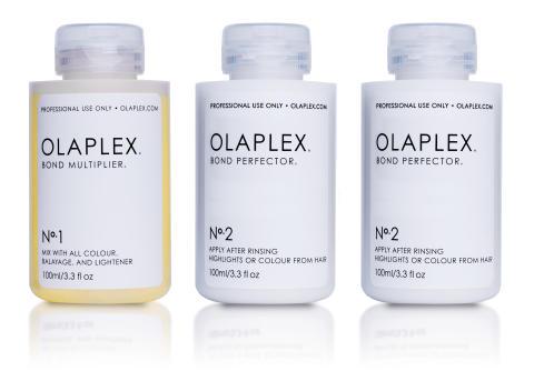 Olaplex- 3 bottles