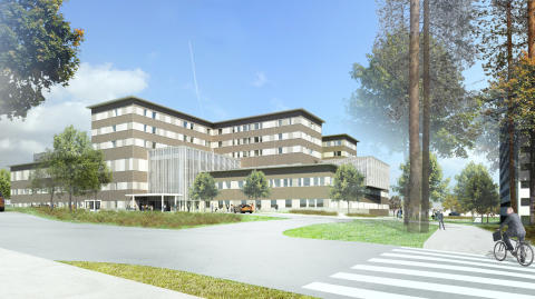 Skanska bygger nytt sjukhus i Kajaani, Finland, för EUR 69M, cirka 670 miljoner kronor