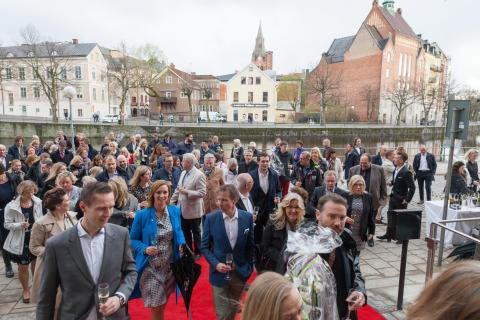 Foto: Gästerna kommer