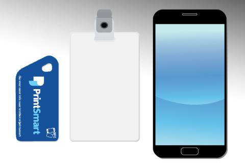 PrintSecure+ Tag, ID-card, Smartfoon