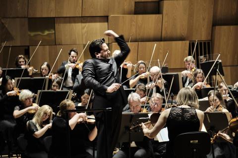 Streamad Mendelssohn och Mozart ersätter Mahler