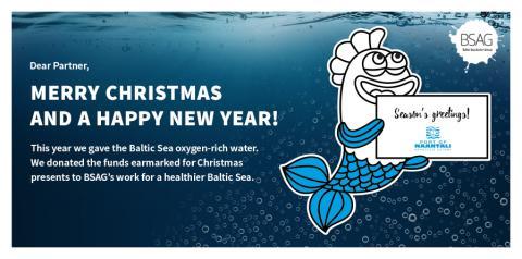 Naantalin Satama  toivottaa iloista joulua ja menestyksekästä uutta vuotta!