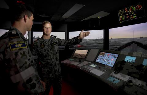 Royal Australian Navy awards major bridge simulator contract to Kongsberg Digital