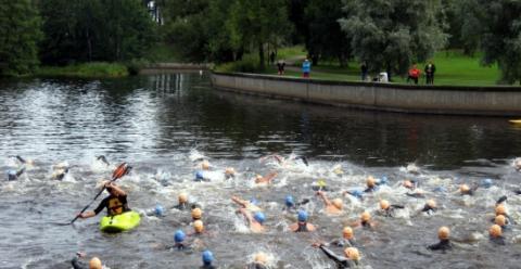 Gävle ny värdstad i Danske Invest Triathlon Series