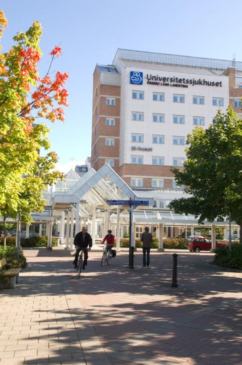 Miljövänligare transporter av Örebro sjukhus personalkläder