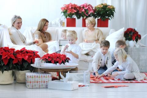 Fira jul med släkt och vänner
