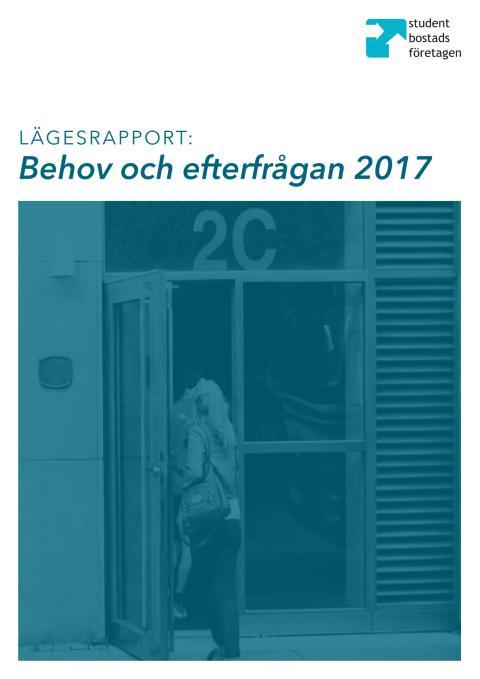 Lägesrapport: Behov och efterfrågan 2017