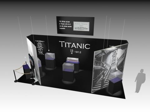 Skiss Titanicmonter