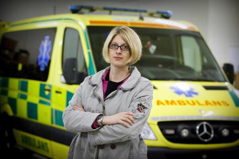 MP: Ambulansen ska komma fram inom tio minuter
