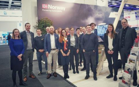 Vellykket bautec-satsing for Norge