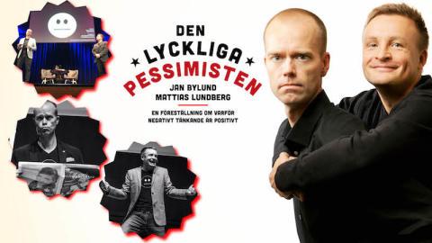 Lyckliga Pessimister till Uddevalla, Borås och Kungsbacka hösten 2018.
