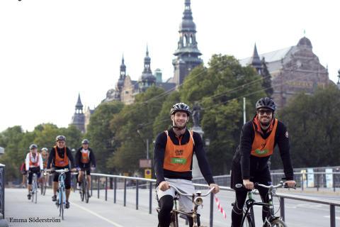 Sveavägen bilfri vid Stockholms vänligaste cykellopp