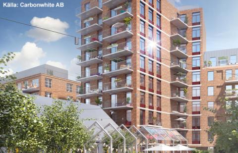 Skandia Fastigheter väljer fjärrvärme för Fabriksparken