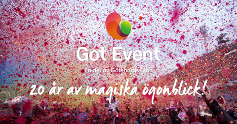 Idag fyller Got Event 20 år