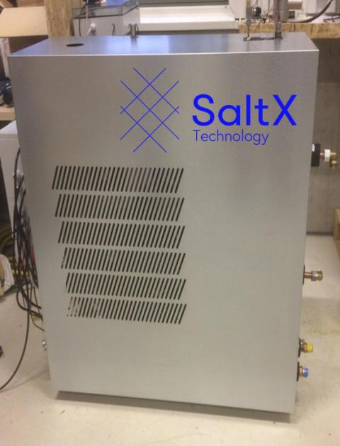 Salt teknik lagrar värme och sparar på gasen