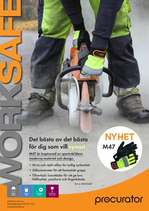 Arbetshandske Worksafe M47 – det bästa av det bästa av handskar