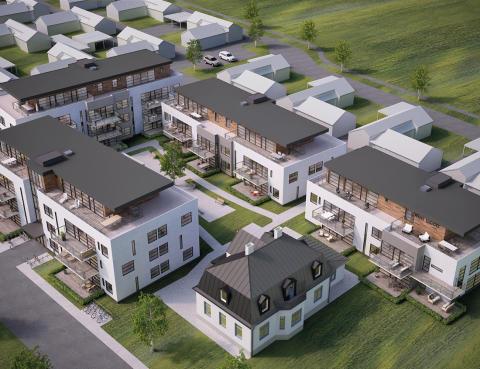 Wästbygg bygger bostäder åt Mjöbäcks i Löddeköpinge