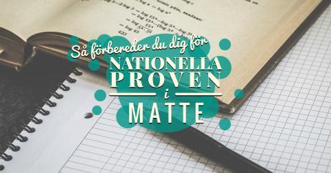 Så förbereder du dig för de nationella proven i matematik
