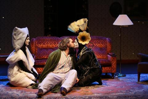 STHLM New Opera 2014: Ett grymt och ohyggligt skämt. Foto: Stefan Nilsson.