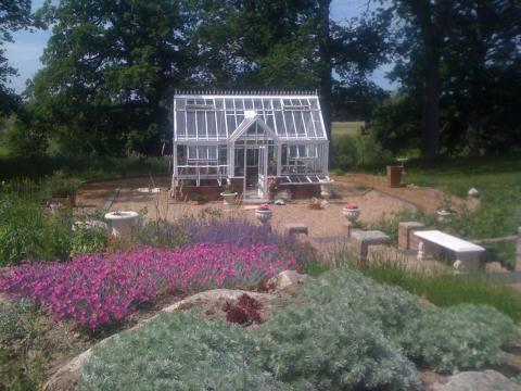 Masse flotte nye bilder av Hartley drivhus!