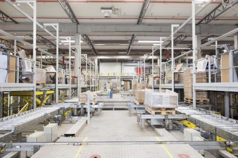 Distribution centre interior