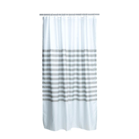87401-06 Shower curtain Java stripe