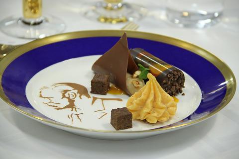 Stadshusrestauranger: Nobel 2013, dessert